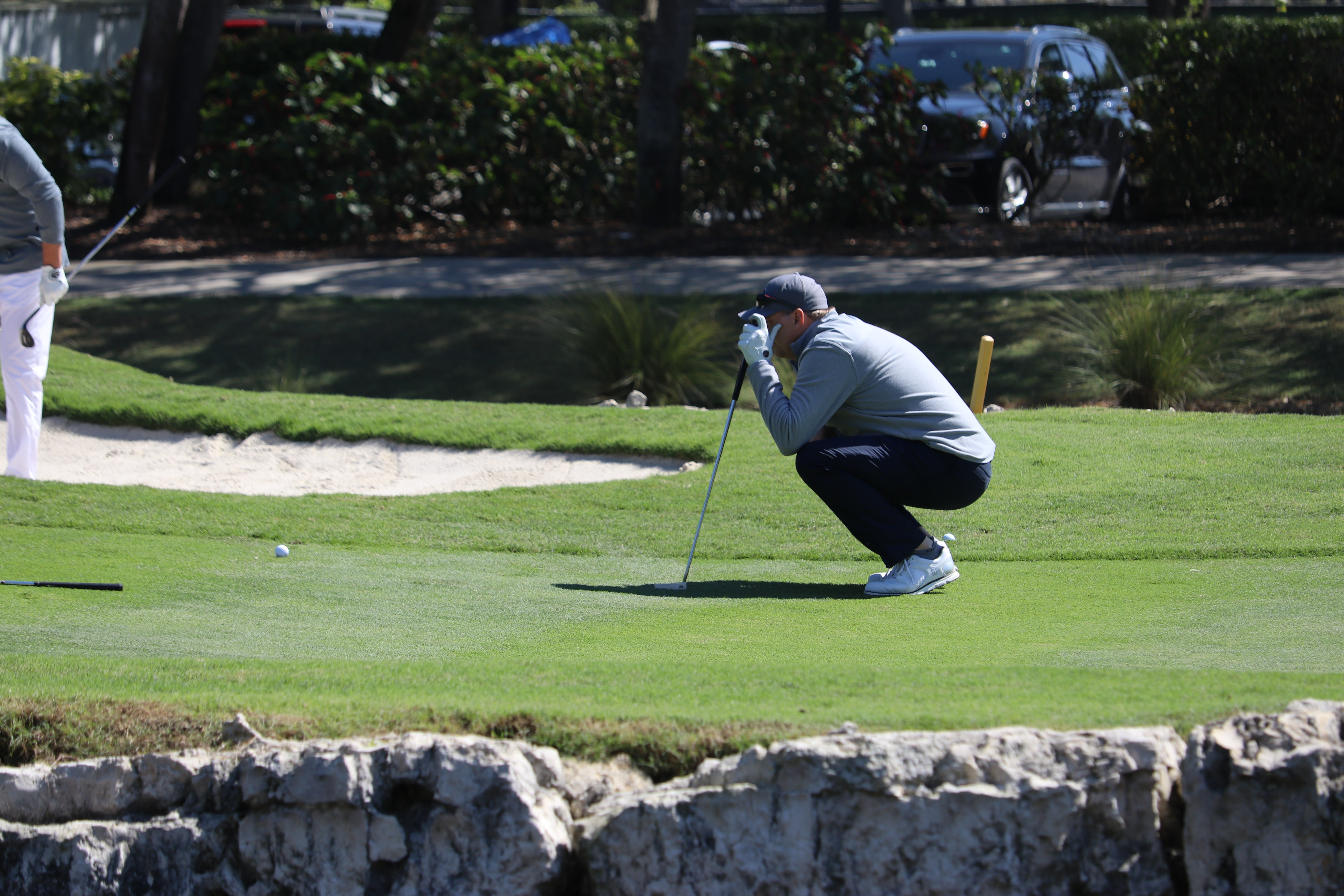 Putting at Mizner Country Club