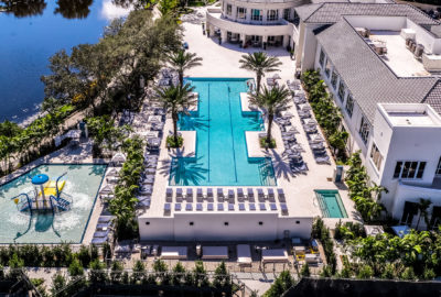 Luxurious updated lifestyle center is the center of luxury living at Mizner.